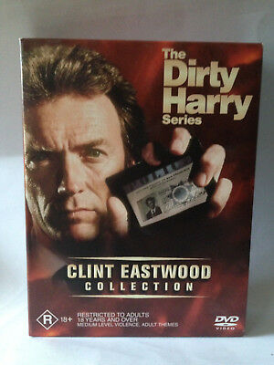 The Dirty Harry Series Clint Eastwood dvd