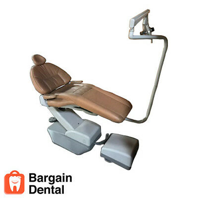 A-Dec Hydro Electromechanical Dental Patient Chair Premium with Operatory Light