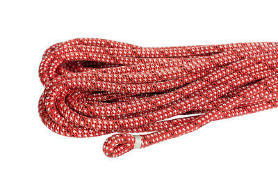 Dyneema Core 10mm X 40m w 25mm Spliced & Whipped Eye, Endura Red
