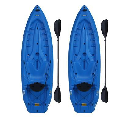 Heavy Duty Lotus Blue Kayak Lightweight Design Molded Paddle Cradle UV Protected