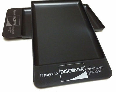 Discover Tip Trays Rest, Bar, 50 Total Check Presenters, Fast Free Ship Sale!!!