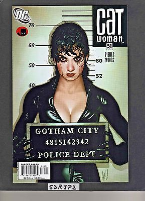 Catwoman #51 Nm Unread Adam Hughes Lost Numbers Cover Dc Gotham City Sirens