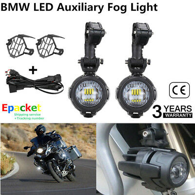 2X Motorcycle LED Headlight Front Fog Running Spot Light for BMW R1200GS ADV OD