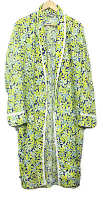 Vintage Lilly Pulitzer Mens Stuff Palm Beach Floral Robe Small