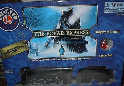 Lionel The Polar Express Battery Powered Ready To Play Train Set-New-4+