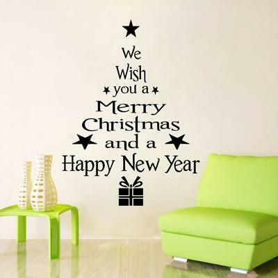 vinyl removable 3d wall sticker christmas tree decals for christmas wall decal - Christmas Wall Decal