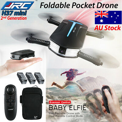 JJRC H37 Foldable MINI Drone Baby ELFIE Pocket FPV HD Camera QuadcopterGyro Heig