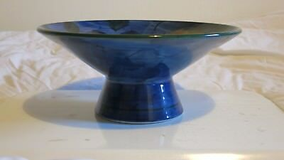 Jersey Pottery Hand Painted 10 Inch Fruit Bowl - Immaculate.