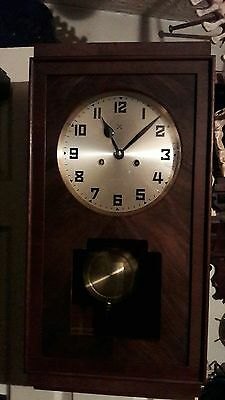 OLD HAC 2KEY STRIKING WALL CLOCK  IN E.W.O   HAW2  reduced to clear