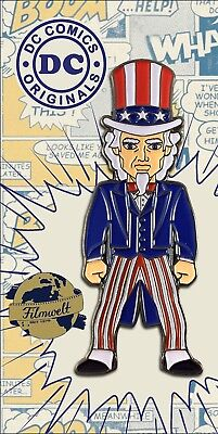Uncle Sam - exklusiver Sammler Collectors Pin Metall - DC Comics - Neuheit