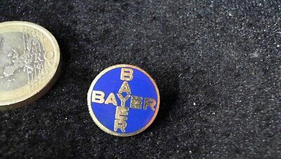 Bayer AG Brosche Brooch kein Pin Badge alt rare
