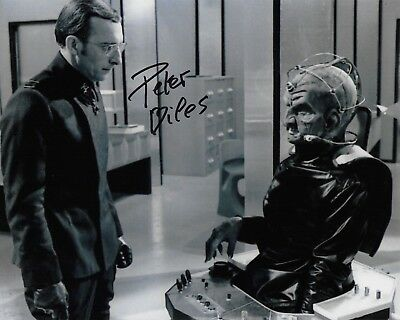 Peter Miles Photo Signed In Person B180 Doctor Who