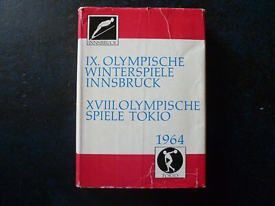 Jeux Olympiques Tokyo et Innsbruck 1964. Olympic Games