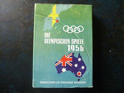 Jeux Olympiques Melbourne et Cortina d'Ampezzo 1956. Olympic Games