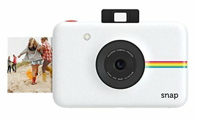 Polaroid Digital Camera  Instant Snap Print White 10mp Zink Touch Zero Ink.