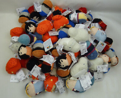 (Wholesale Lot of 64) Disney Tsum Tsum Plush Toy Tangled, Frozen, Finding Dory