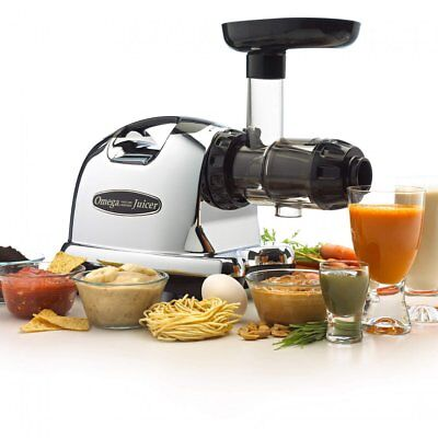 OMEGA 8226 -8006 NUTRITION CENTRE Single Gear Cold Press Juicer slow masticating