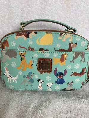 Disney Dooney & and Bourke Dogs Print Ambler Small Crossbody Bag Purse A