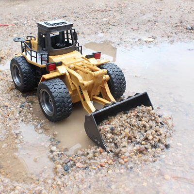 Remote Control Tractor RC Bulldozer Front Loader Truck Construction Toy Vehicle