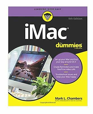 iMac for Dummies, 9th Edition (Revised ) OS X El Capitan Operating System Book