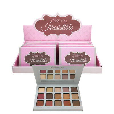 Beauty Creations  Irresistible  Eyeshadow Palette-15 colors Highly Pigmented