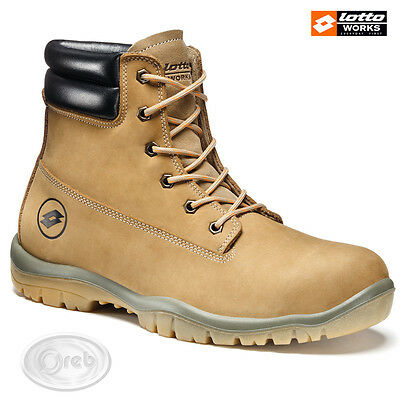 Chaussures De Protection Lotto Works Jump 950 High R6987 S3 Src Imperméable