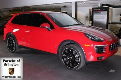 2016 Porsche Cayenne Base Sport Utility 4-Door 2016 SUV Used Premium Unleaded V-6 3.6 L/220 8-Speed Automatic w/OD AWD Red