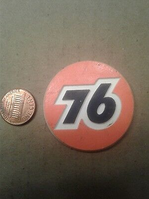 Union 76 Gas Station Gasoline Phillips 66 Vintage Rubber Magnet Standings Board