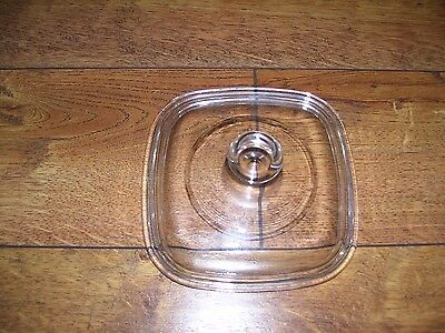 1 NEW Petite Glass Replacement Lid for Corning Ware Pyrex P-41 or P-43 Dish