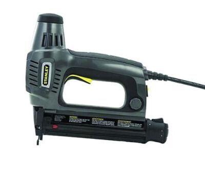 """Stanley Electric Brad Nailer With case.Drives 5 size brads - 5/8"""" to 1"""" .TRE650"""