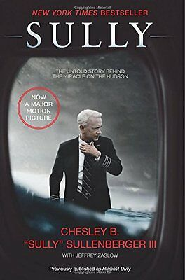 SULLY My Search for What Really Matters US Airways Flight 1549 Book Hudson NEW