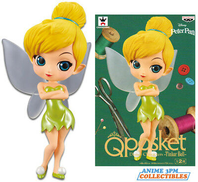 Banpresto Q Posket - Disney Peter Pan - Tinker Bell Figure Ver. A AUTHENTIC!!!