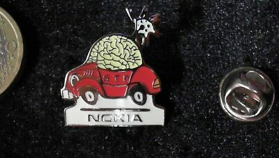 Nokia Car Pin Badge rot