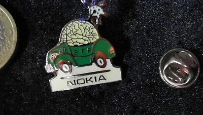 Nokia Car Pin Badge grün