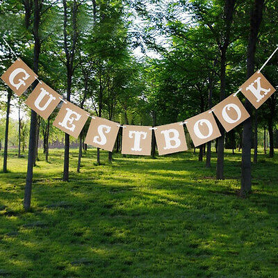 Wedding banner Bunting Sign Engagement Party Photo Prop Decoration 2016