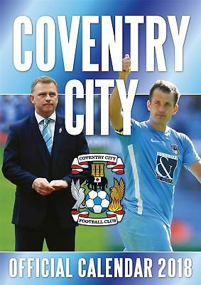 Official 2018 Coventry City A3 Football Wall Calendar Gift Present Birthday