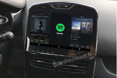 autoradio gps renault clio 4 android bluetooth eur 549. Black Bedroom Furniture Sets. Home Design Ideas