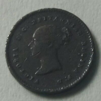 Vintage Queen Victoria  Very Old Coin Of Quarter Farthing 1853