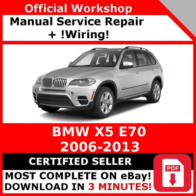 factory workshop service repair manual bmw x5 e70 2006 2013 rh picclick fr bmw x5 e70 repair manual bmw e70 repair manual pdf