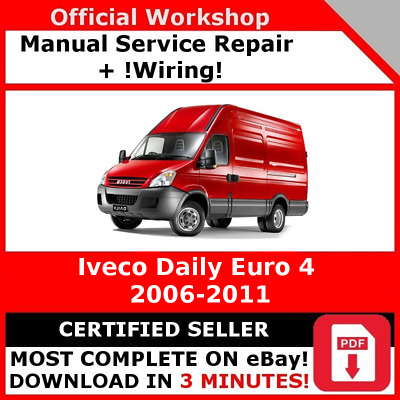 Iveco daily euro 4 workshop service repair manual wiring eur factory workshop service repair manual iveco daily euro 4 2006 2011 cheapraybanclubmaster Choice Image