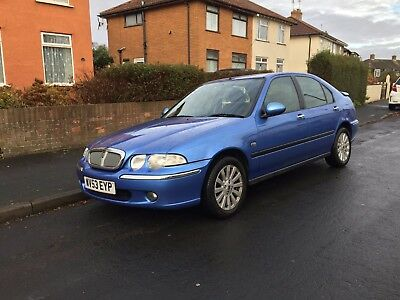 Rover 45 Impression 1.6 2003/53 Only 48,000 Miles