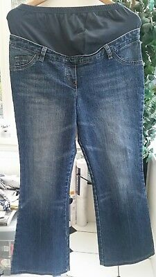 570546fc17efd Maternity Next Over The Bump Jeggings Jeans Blue Navy Size 8 - 20 Leg 28