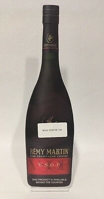 Remy Martin Sign Countertop Stand Champagne Cognac 2013
