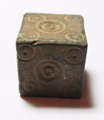 Zurqieh -Aa9700-  Ancient Jordan. Byzantine Bronze Weight. 600 - 700 A.d
