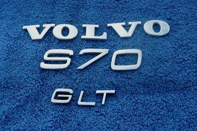 Volvo S60 S90 trunk emblem letters badge decal logo OEM Factory Genuine Stock
