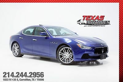 2014 Maserati Ghibli S Q4 2014 Blue Maserati Ghibli S Q4! All Wheel Drive! Remote start! Extra clean! LOOK