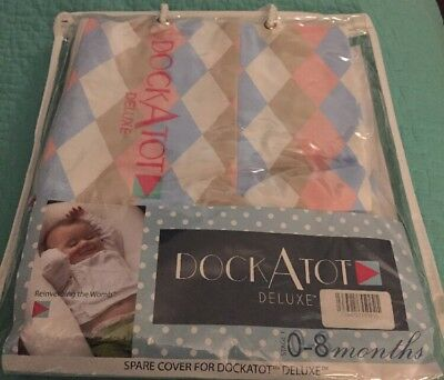 Brand New  Dock A Tot Deluxe Cover 0-8 Months Spare Cover For deluxe