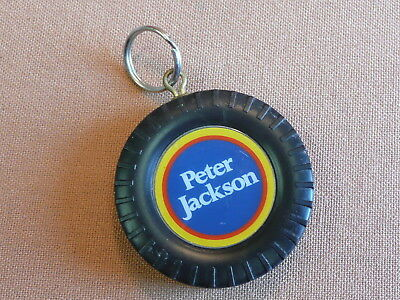 Vintage Peter Jackson Cigarette Compass Tyre Advertising Key ring SEE PICS
