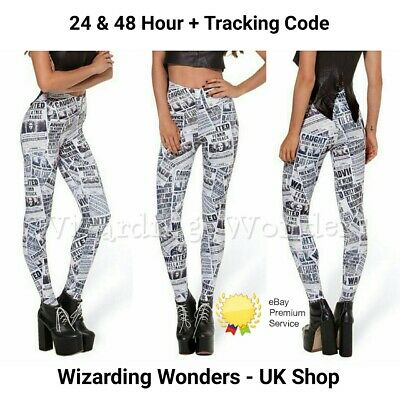Harry Potter Leggings Marauders Map Solemnly Swear That I Am Up To No Good