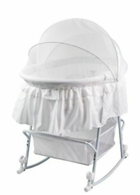 OpenBox Dream On Me Lacy Protable 2 in 1 Bassinet and Cradle, URGENT DELIVERY